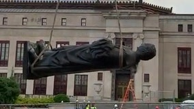 City of Columbus, Ohio capital, removes Christopher Columbus from city hall