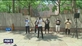 Calls for better conditions for NYCHA residents at BLM rally in Brooklyn