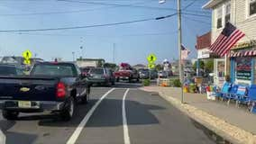 Traffic at a Standstill as Beachgoers Flock to Jersey Shore