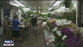 Outdoor dining helping keep NYC's florists in business