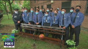 NYPD, FDNY join memorial honoring the life of Queens teenager killed by stray bullet