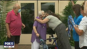 90-year-old Holocaust, COVID-19 survivor from Long Island returns home