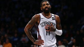 NBA fines Irving, Brooklyn Nets for player's silence