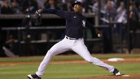 Yankees closer Aroldis Chapman tests positive for COVID-19