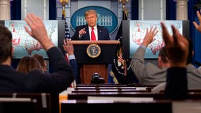 Trump, Mariano Rivera mark Opening Day at White House