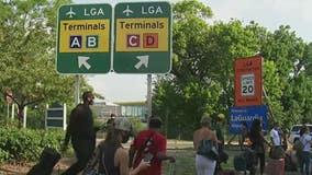 Suspicous package triggers alarm at LaGuardia Airport