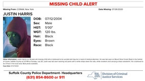 Missing child alert for teenager from Suffolk County