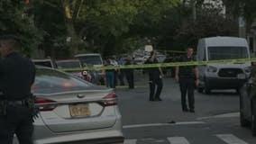 12 more shootings including man struck while visiting memorial