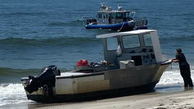 Police: Boat thief beaches stolen crabbing vessel