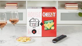 Cheez-It brings back summer box set pairing white cheddar with House Wine rosé