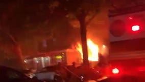 Several hospitalized after Queens fire