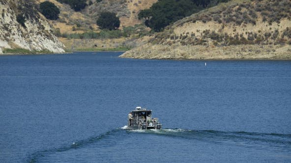 """Search of California lake resumes for missing """"Glee"""" star"""