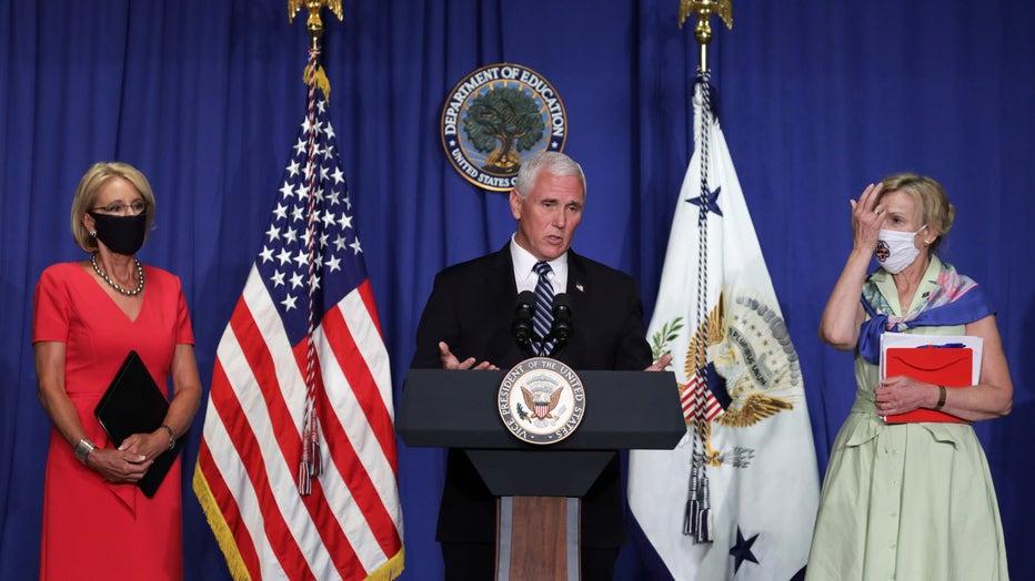 Members Of White House Coronavirus Task Force Hold Briefing