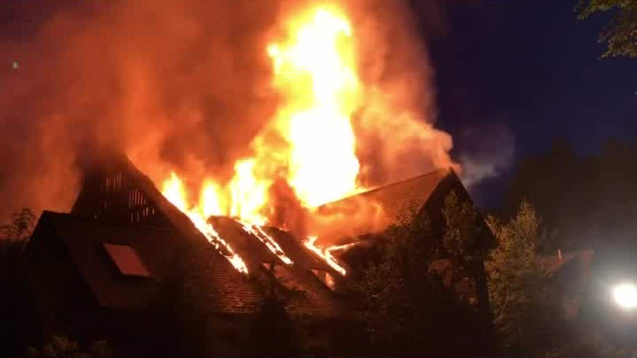 Rachael Ray house fireRachael Ray House Fire Pic