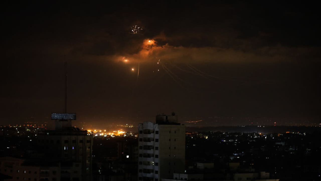 Palestinian militants fire 12 rockets at Israel from Gaza ... Rockets Gaza Strip Israel