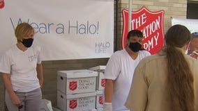 Salvation Army distributes masks to homeless New Yorkers