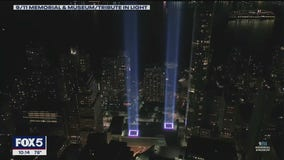 Firefighters save annual 9/11 Tribute in Light