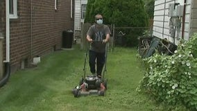 Laid-off advertising executive mows lawns for seniors at no charge