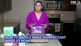 How to make your own disinfectant wipes at home — safely and easily