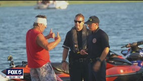 One dead after boats collide in Long Island waters.