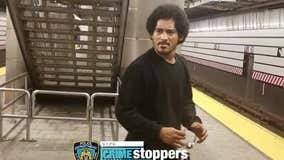 NYPD searching for attempted rapist caught on camera