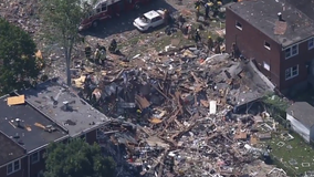 Deadly explosion levels buildings in Baltimore