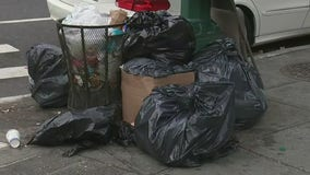 Trash piles up amid New York's pandemic budget crunch