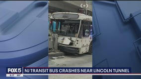FDNY: 16 injured after NJ Transit bus crashes near Port Authority