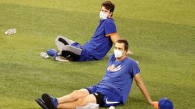 Mets games postponed after two positive coronavirus tests
