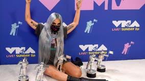 Lady Gaga, The Weekend win big at MTV VMAs