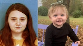 Tennessee teen mom indicted on felony murder, other charges in 15-month-old's death