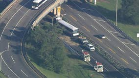 Dozen hurt in NJ Transit bus crash