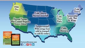 'Winter of the great divide': Farmers' Almanac predicts cold, white winter with possible February blizzard