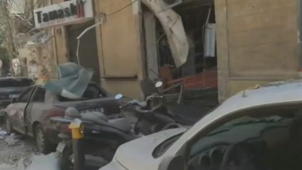 Beirut neighborhoods in shambles