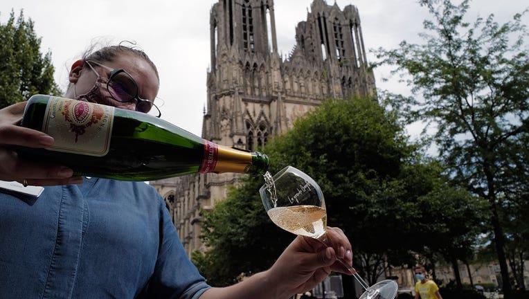 Champagne sales down