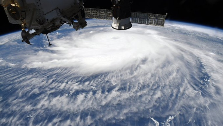 Hurricane Laura NASA photo