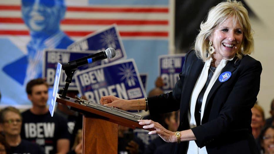 Joe Biden Campaigns In Las Vegas One Day Before Nevada Caucuses