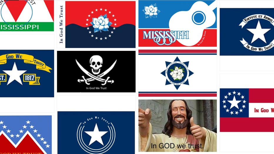 Mississippi flag submissions 2