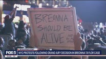Protesters march in NYC over Breonna Taylor decision