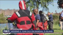 Missing 5-year-old off of Randall's Island