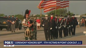 Ceremony in Point Lookout honors 9/11 victims