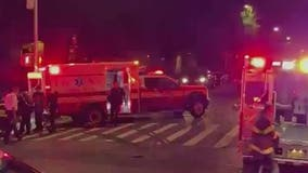 Patient in ambulance killed in collision with FDNY fire truck