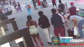 NYPD searching for teens who robbed, punched 74-year-old woman