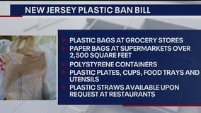 NJ set to ban plastic, paper bags and plastic foam containers