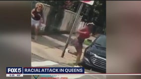 Racial attack in Queens
