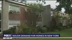 Major demand for homes in New York