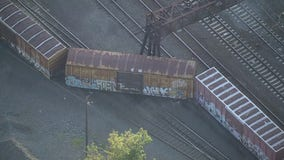 Freight train derails in the Bronx, disrupting Amtrak service
