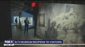 9/11 museum reopens to visitors