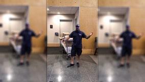 'FedEx Rockstar': Delivery man serenades Boston caregiver with operatic performance