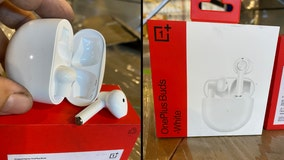 Feds seize thousands of knock-off Apple AirPods at JFK
